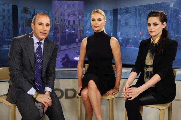 Charlize Theron et Kristen Stewart sur le plateau de Today Show