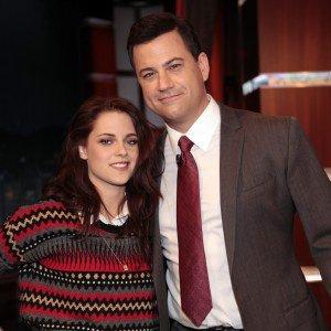 Kristen au Jimmy Kimmel