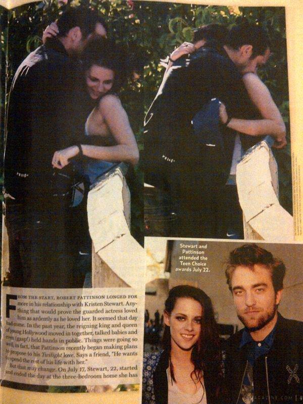 Rumeur : Kristen Stewart trompe Robert Pattinson ?