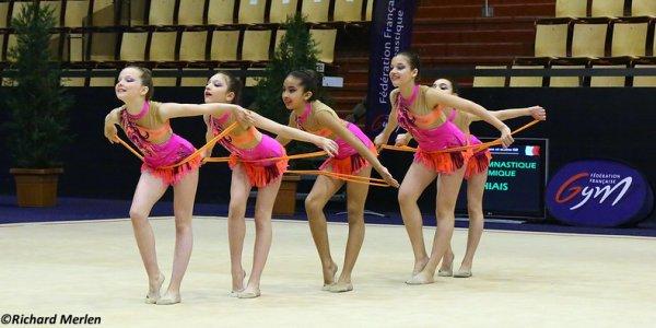 2639 - Championnat de France Ensembles Clermont-Ferrand 2016 - Ensembles 13 ans et moins: Thiais, 9�me