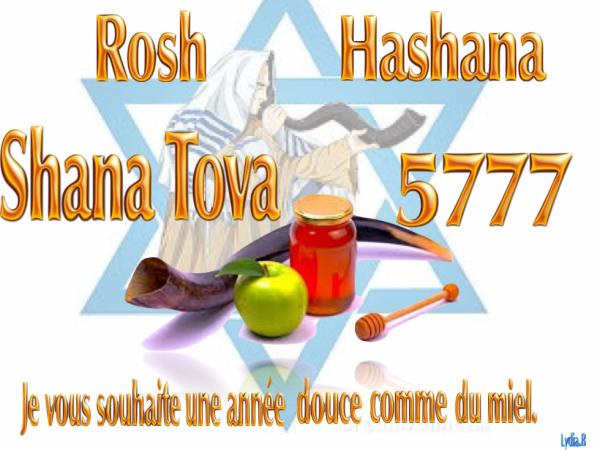 Parasha NITSAVIM et ROSH HASHANA.