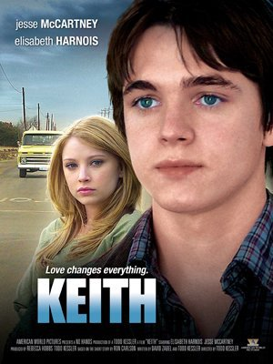 keith : le prenom de Jesse Mccartney dans le film : Jesse McCartney as Keith Zetterstrom