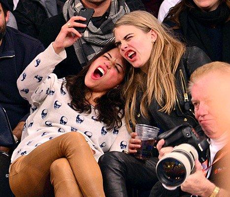 Michelle Rodriguez & Cara Delevingne