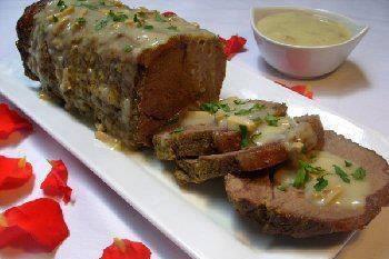 Rôti de veau à la sauce blanche