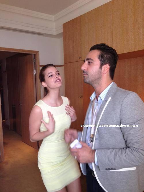 Barbara est arriv�e hier � Cannes et ce soir la miss Palvin sera sur le tapis rouge du festival de Cannes!