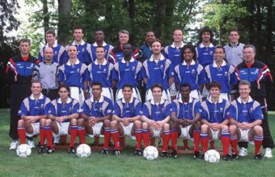 Equipe de france de l 39 euro 1996 reynald pedros le - Coupe du monde 1994 equipe de france ...