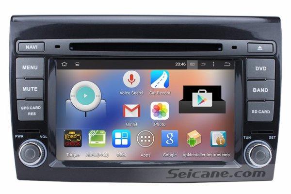 montage pour 2007 2012 fiat bravo autoradio android 4 4 4 quad core avec gps bluetooth obd ii. Black Bedroom Furniture Sets. Home Design Ideas