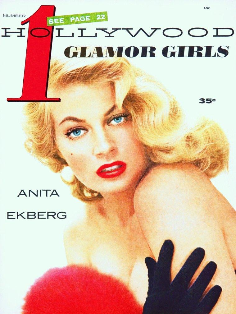 Anita EKBERG, de son vrai nom Kerstin Anita Marianne EKBERG est un mannequin et une actrice su�doise, n�e le 29 septembre 1931 � Malm�.