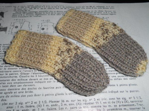 1959 janvier/ chaussettes de Michel