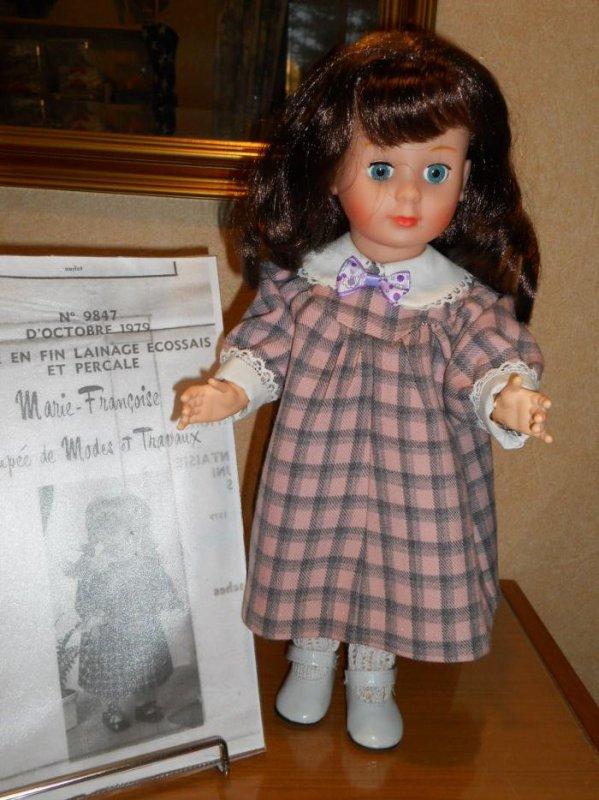 1979 octobre / robe terminer pour Marie Françoise