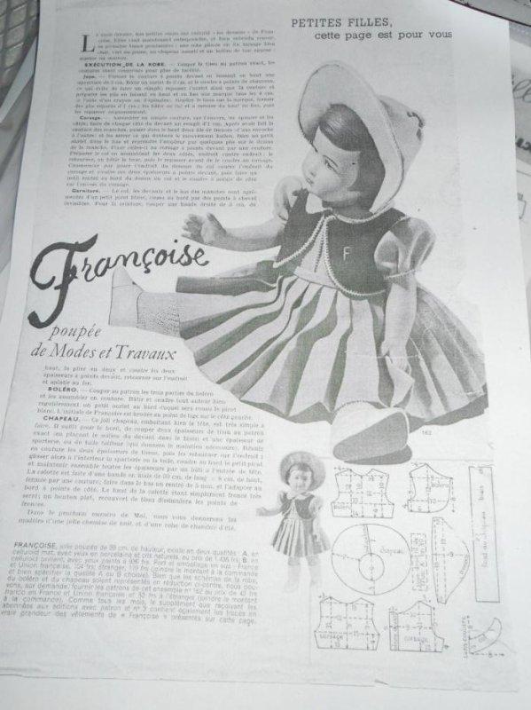 suite de la jupe et renseignement ! pour avril 1951 quel couleurs ???