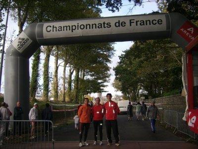 R�sultats des Championnats de France Semi-Marathon Morlaix - Dimanche 31 Octobre 2010
