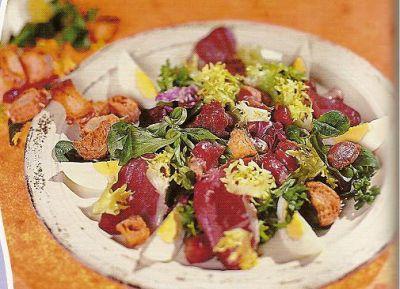salade landaise aux g siers confits et aiguillettes de canard entr blog de chakalis49recettes. Black Bedroom Furniture Sets. Home Design Ideas