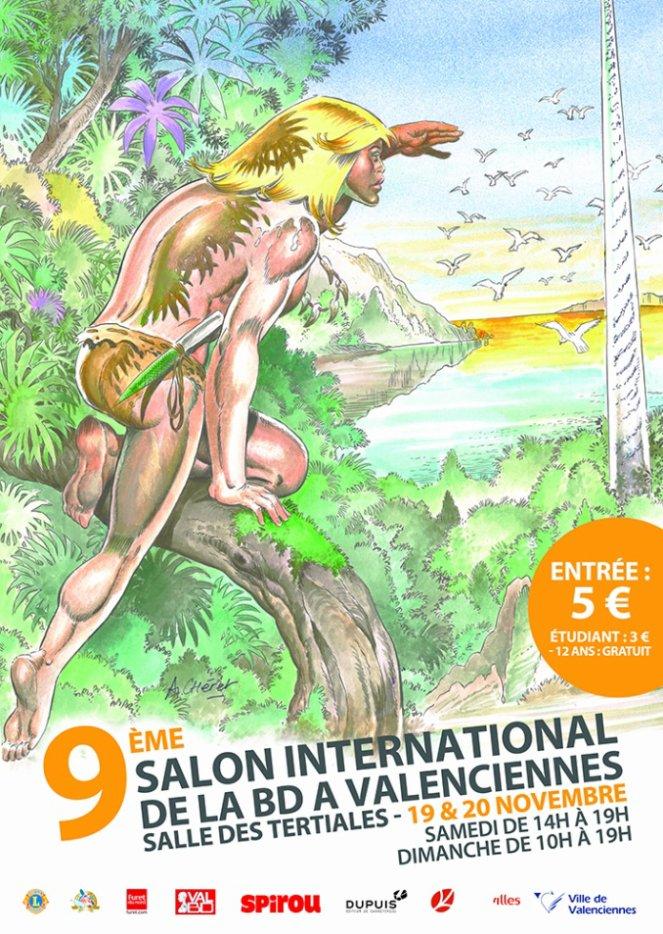 Salon international de la bande dessin e de valenciennes for Salon de la bd colomiers