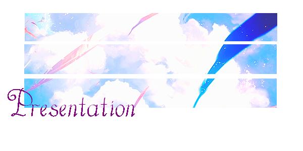 Pr�sentation ♦