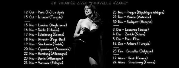 nouvelles vagues sur la sc�ne du Jazz Club Etoile avec elodie frege pour Paris covery et l'inauguration de l'h�tel m�ridien a paris le 22 septembre 2016 ( 2 et fin )