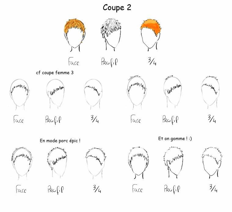 Tutoriel dessin n 10 les diff rents coupes de cheveux - Dessin de coupe de cheveux ...