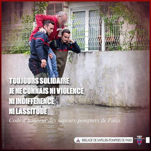 Code d'honneur des sapeurs-pompiers de Paris