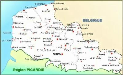 Caudry Plan Ville