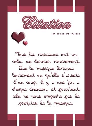 Citation ♥