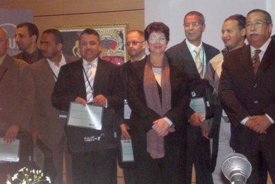 المباراة الوطنية الخامسة للأساتذة المبدعين  حول تكنولوجيات المعلومات والاتصالات في ميدان التربية والتكوين