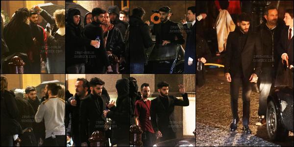 07/01/2017 : Zayn tournait un clip en dehors de l'hôtel « St Pancras Renaissance » situé dans Londres (UK)Et oui, Zayn a passé sa journée avec Taylor Swift pour faire le clip de « I Don't Wanna Live Forever » à Londres. J'étais présente sur le tournage !