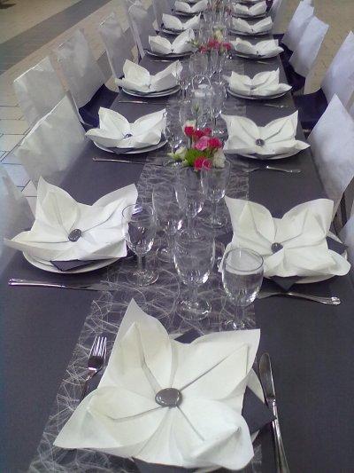 mariage gris et blanc - Blog de Arumpassion1