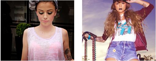 """"""" je peux para�tre forte, mais au fond je suis une petite fille effray�e """" - Cher Lloyd"""
