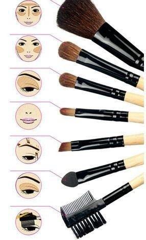 Articles de margauxdvt tagg s maquillage margaux 39 s galaxy - Pinceaux maquillage utilisation ...
