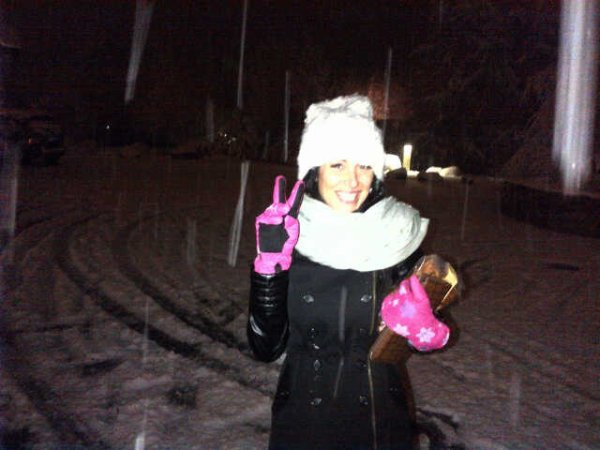 Fanny en mode hiver :3...
