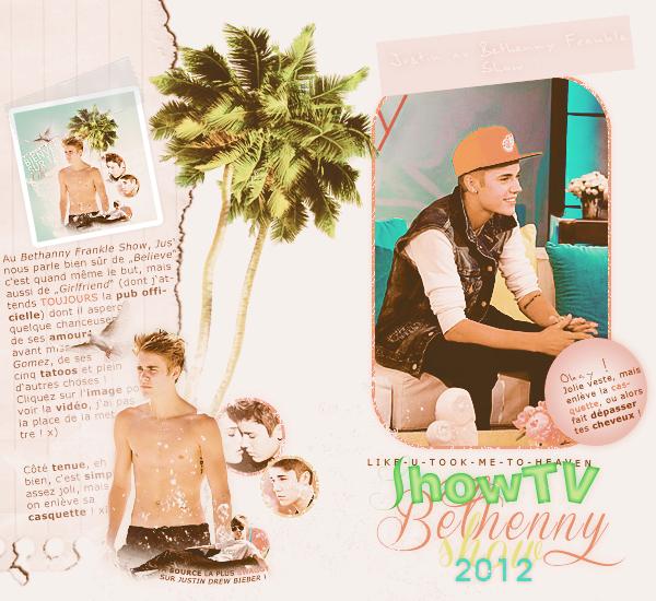 """Justin (et Selena) � l'avant-premi�re de """"A Part Of Me"""" + Bethanny Frankle Show + Jay Leno Show + Justin sortant d'un resto' + quelques candids de Jelena et divers..."""