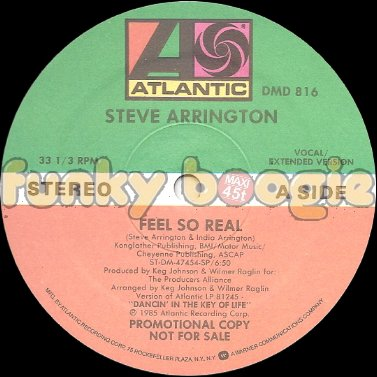 Steve Arrington - Feel So Real (Vocal / Extended Version)