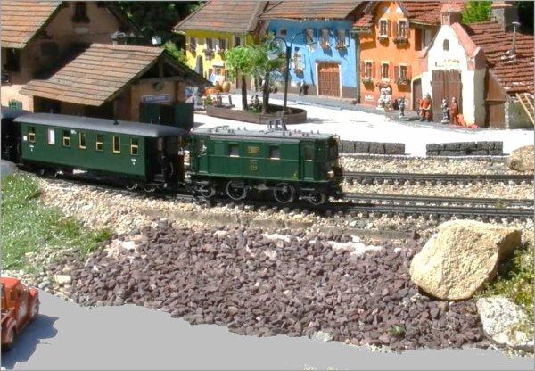 Le train de jardin de molsheim le mat riel roulant b1 for Jardin ferroviaire