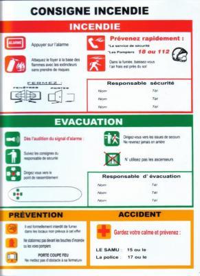 Consignes de s curit respecter passionn s de v hicules pompiers - Respecter les consignes de securite ...