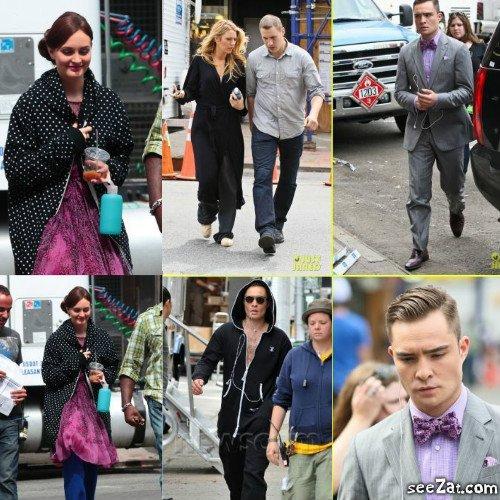 NEWS : Les acteurs sur le Set de la saison 6