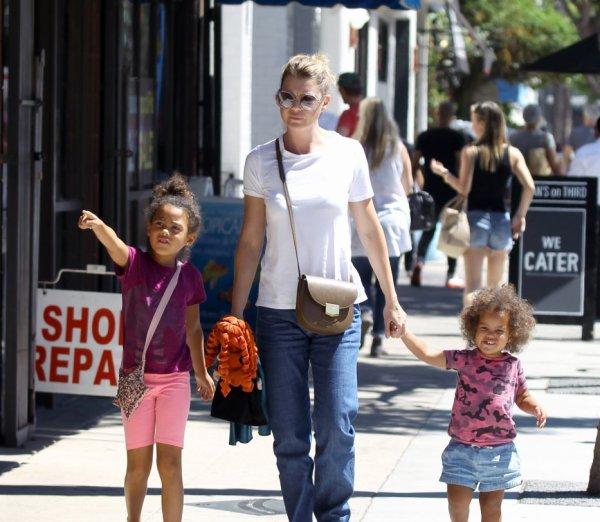 Ellen Pompeo, Stella et Sienna
