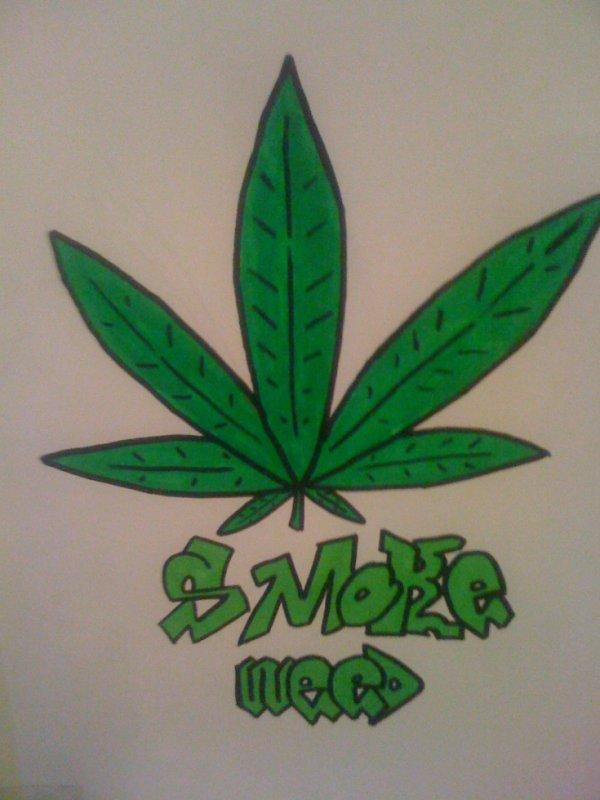 Tuto Dessin Feuille De Cannabis