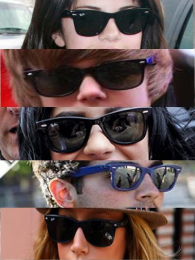 A qui appartiennent ces RayBan?