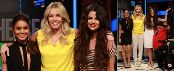 21 mars : Selena et Vanessa � l'�mission de t�l�vision de Chelsea Lately