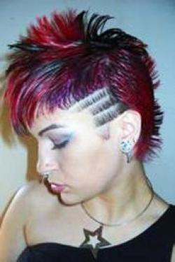 Stupendous Nitultr39S Articles Tagged Quotemo Punk Girls Hairstylesquot Blog De Short Hairstyles Gunalazisus