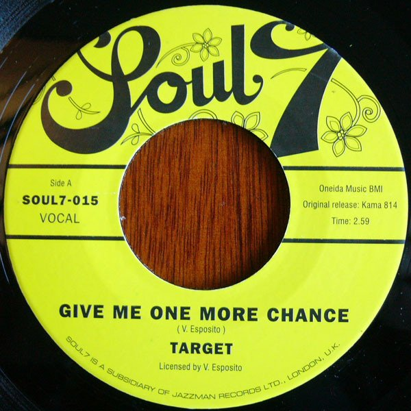 Target - Give Me One More Chance