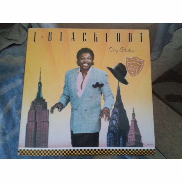 J. Blackfoot 1988  – City Slicker  -  J. blackfoot – city slicker Label Edge Records