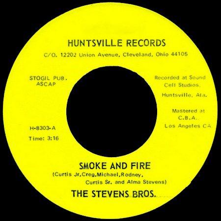 The Stevens Bros. -  Love Crazy (Huntsville Records , 1983)