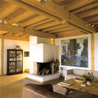 Articles de passiondubois tagg s construction maison bois page - Cheminee interieur maison ...