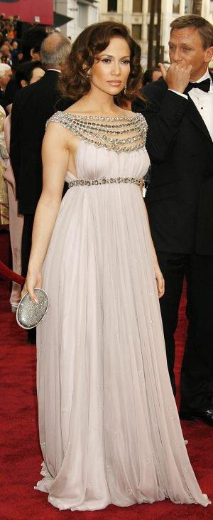 Robe Jennifer LOPEZ couleur grise taille 46/48 METIS