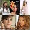 Les candidates à l'élection de Miss France 2014