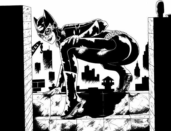 Catwoman blog dessins a benfares - Dessin catwoman ...