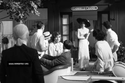 Découvrez les premières images du court-métrage sur Coco Chanel !