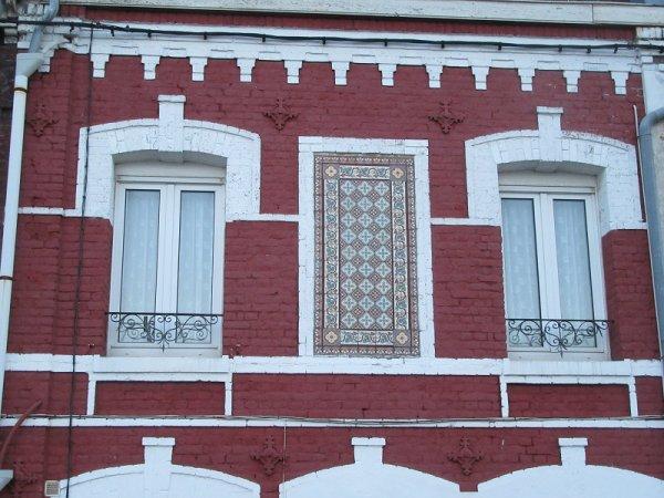 les briques rouges du Nord