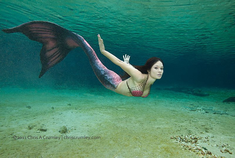 photo comment devenir une sirene